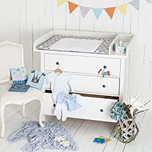 xxl extrarund trennfach wickelaufsatz f r ikea hemnes kommode in 1 08m neu baby. Black Bedroom Furniture Sets. Home Design Ideas