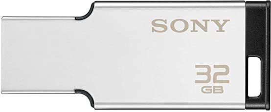 Sony 32GB USB Metal Pendrive (Silver)