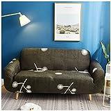 GELing Sofabezug Sofaüberwurf Möbelschutz Sofaüberzug Couchbezug Elastisches All-Inclusive-Sofatuch 8 4 Sitzer(240-300CM)