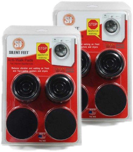Anti-Walk Silent Feet (Rabatt Paket) - Anti-Walk Vibration Pads für Waschmaschinen und Trockner (Silent Feet-anti-vibration)