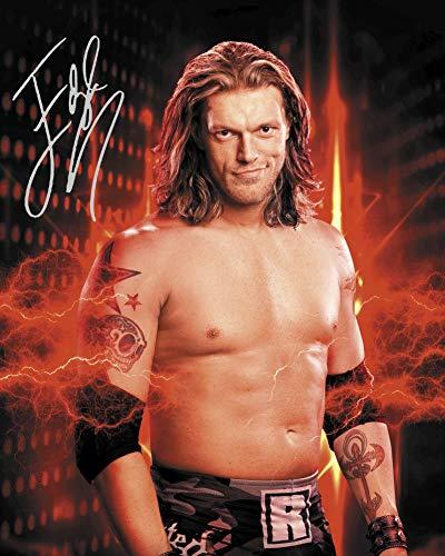 Frame Smart Edge #2 WWE  gedrucktes Unterschriftenfoto   10x8 Größe passt 10x8 Zoll Rahmen   Fotoqualität Labordrucker   Fotoanzeige   Geschenk Sammlerstück (Wwe Edge Der In)