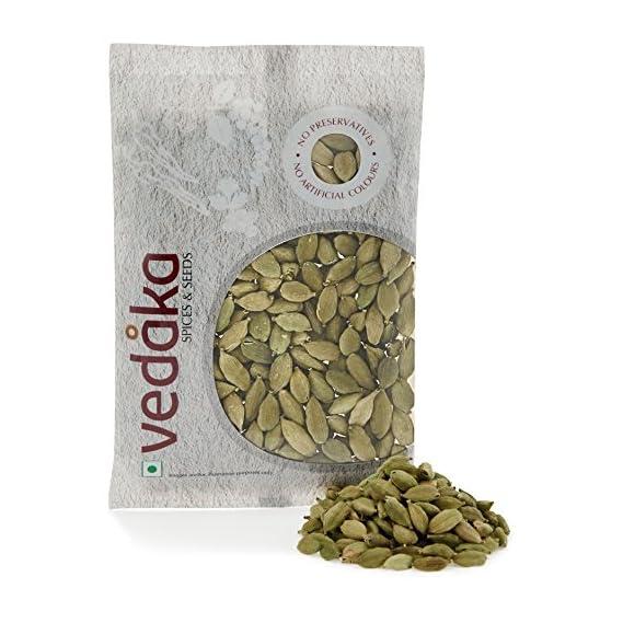 Amazon Brand - Vedaka Cardamom (Elaichi), 100g