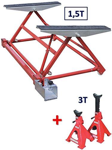 EQUIPEMENT EXPRESS SICOBA Mini Pont Mobile Basculant pour Levage Auto 1500 kg...