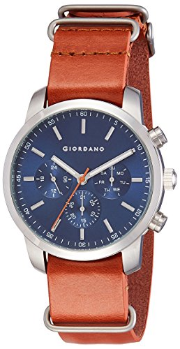 Giordano Analog Blue Dial Men's Watch-1772-04 image