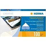 Herma 1302 Transparol Coins-Photo Format Géant 100 pièces Transparent