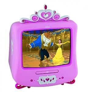 disney princess tv avec lecteur dvd int gr 14 35 6 cm import allemagne tv vid o. Black Bedroom Furniture Sets. Home Design Ideas