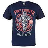 Photo de Rule Out T-Shirt Firefighter. Fire Dept. All Equal Except Firefighter. Sapeur Pompier. Gym. Taining. Sportswear. Fire Brigade. Casual. par Rule Out