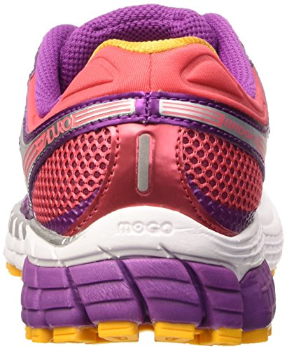 Brooks  Aduro 3 W, Chaussures de Multicolore - Byzantium/Paradise Pink/Saffron