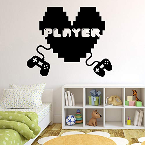 Creativo Divertente Gamer Gioco amanti Wall Sticker Per Camera da gioco Camera da letto Kids Room Decor Adesivi Decorazione murale Poster Gioco Wallpaper 43 * 52cm