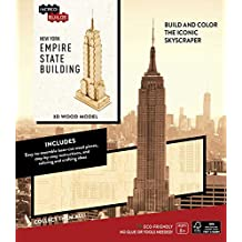 INCREDIBUILDS: NEW YORK: EMPIRE STATE BUILDING 3D WOOD MODEL