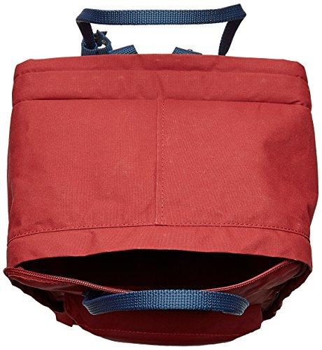 Fjällräven Unisex Kånken Laptop 17 Rucksack Ox Red-Royal Blue