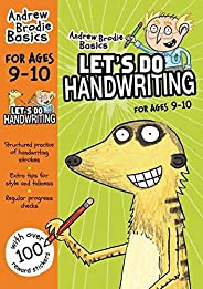 Let's do Handwriting 9-10 (Andrew Brodie Bas