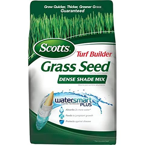 SCOTTS LAWNS - Turf Builder Dense Shade Grass Seed Mix, 3-Lbs., Covers 750 Sq. Ft.