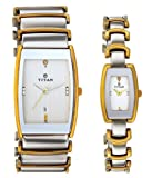 Titan NH13772385BM01 Bandhan Analog Multicolor Dial Couple Watch (NH13772385BM01)