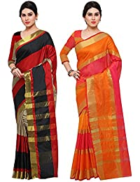 Saree Mall Women's Art Silk Saree Combo Offers For Women (saree Combo RGO2006_13_FreeSize)