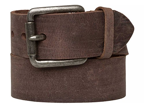 b87b30e2cecc STRONG DESERT VINTAGE Messieurs Ceinture en cuir Made in Germany marron 80