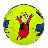 #7: Lionbuzz Green Motu Patlu Kids Football - Size 3, Synthetic, 1 Football and 1 Needle
