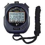 Cronometro CaLeSi professionale, portatile, LCD, digitale, sportivo,