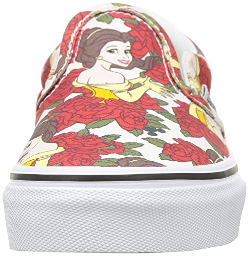 Vans K Classic Slip-On (Disney) Sneakers, Infantile Grigio (Disney/Belle/True White)