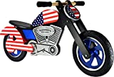 kiddimoto 507 CHOPPER usa, Holz Laufrad im Easy Rider Design