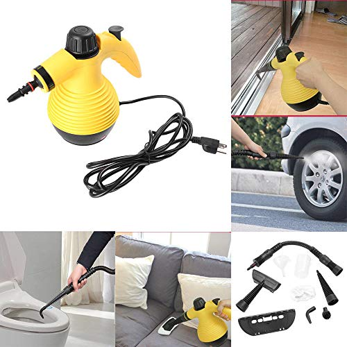 TAOtTAO Portable Steamer 10Ft Multifunction Portable Steamer Household Steam Cleaner 1050W