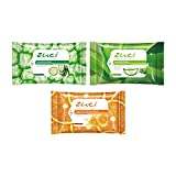 #10: Zuci Wet Wipes Pack of 3 (Cucumber, Aloe Vera and Citrus Wipes)