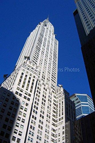 Foto ein 30,5x 45,7cm Hochwertiger Fotodruck der Chrysler Building in New York City Vereinigten Staaten von Amerika Hochformat Foto Farbe Bild Fine Art Print. Fotografie von Andy Evans Fotos (Fotos Amerika)