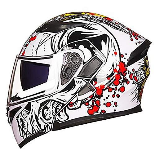 ETH Beide Seiten Erwachsenen Fahrradhelm Reiten Elektroauto Motorradhelm Fahrrad Mountainbike Helm Außenreitausrüstung Qualität (Size : L) - Mountainbike-helm Giro