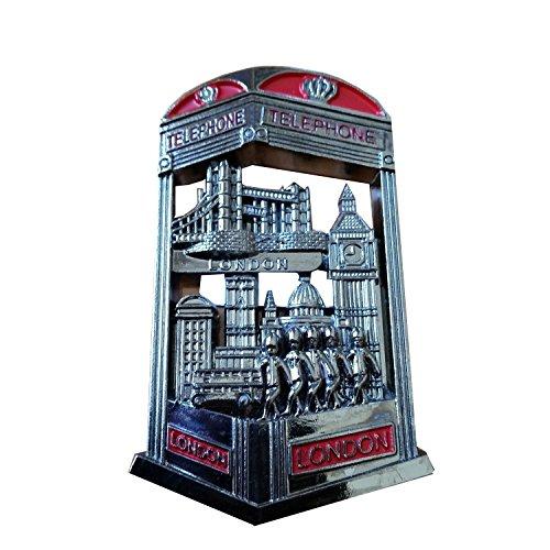 Metal Imán Londres Cabina Teléfono todo souvenir