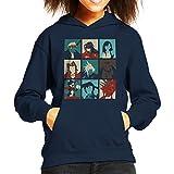 Final Fantasy 7 Pop Art Kid's Hooded Sweatshirt