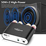 Nobsound NS-10G PRO Hi-Fi DSP 100W (50W x 2) Digital Bluetooth 4.2 Amplifier 2.0 Channel Stereo Power Audio Amp for Home Speakers Upgrade Version Mini Digitaler Verstärker Vergleich