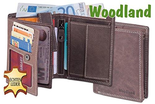 """""""Woodland"""" scambio bar verticale stock morbido, appassionato non trattata Marrone"""