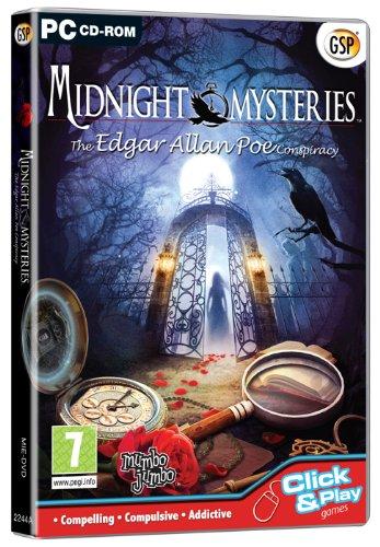 Midnight Mysteries - The Edgar Allan Poe Conspiracy (PC CD) [Edizione: Regno Unito] - Amazon Videogiochi