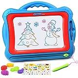 NextX Grande Lavagnetta Magnetica Magica - Giocattolo Educativo e Creativo a Colori - Tavoletta da Disegno Cancellabile - Regalo Perfetto di Natale per Bambini 3+ Anni