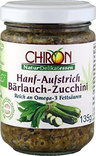 Bio Hanf-Aufstrich Bärlauch-Zucchini kbA 135g