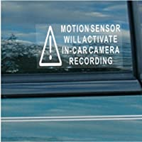 5 adesivi di sicurezza per auto, furgoni,
