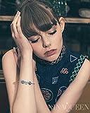 NinaQueen Branche d'olivier Perle Charm pour femme argent 925 compatible avec pandora charms bracelets bijoux Cadeau Saint Valentin Fete des Meres Anniversaire Cadeaux Noel Maman Mere Fille - 5