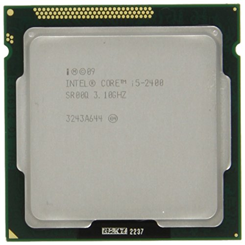 Intel Core I5-2400 Quad-core Processor 3.1 Ghz 6 Mb Cache Lga 1155 - Bx80623i52400