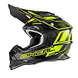 Casco Mx Oneal 2017 2Series Rl Manalishi Nero-Neon Giallo (S ,...