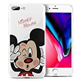 ShopInSmart Coque de protection en silicone avec motif dessins animés Disney Joyeux...