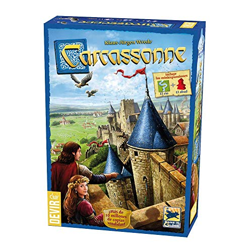 c2117ffdb311 Devir - Carcassonne, Juego de Mesa (versión en Castellano)