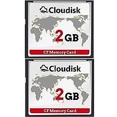 Cloudisk 2X CF-Karte 2 GB
