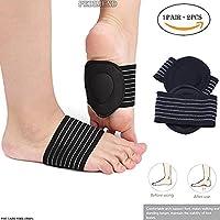 PEDIMENDTM Gepolsterte Fußgewölbe-Einlegesohlen für Plantarfasziitis (1 Paar), hohe Fußgewölbe, Kompressions-Fußmanschette... preisvergleich bei billige-tabletten.eu