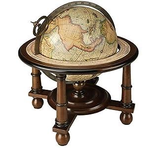 Authentic Models GL023F – Bola del mundo con reproducción cartográfica de G. Mercator 1541