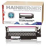 Hainberger XL Toner magenta kompatibel zu Samsung Xpress C410W CLP-365/SEE CLP-365 360 Series CLX 3300 Series 3305 FN FW Xpress C 460 FW Series - CLT-K406S CLT-C406S CLT-M406S CLT-Y406S - Schwarz 1500 Seiten, Color je 1000 Seiten