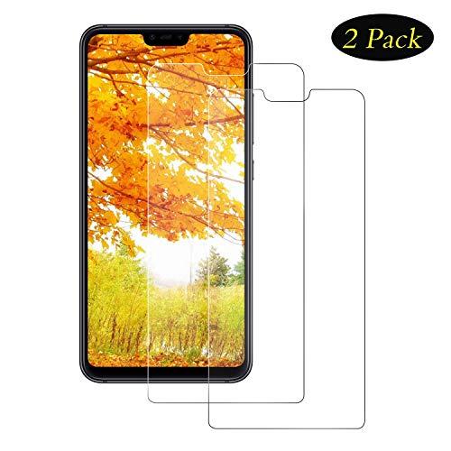 DOSMUNG Panzerglas Schutzfolie für Xiaomi Mi 8 Lite, 9H gehärtetes Glas, Anti-Kratzer, Bläschenfrei, Ultra Transparenz Full HD, Panzerglasfolie Bildschirmschutzfolie für Mi 8 Lite -[2 Stück]