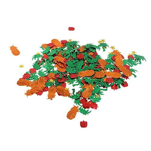 MagiDeal-Confeti-de-Chispa-Tropical-Hawaiana-Mezclada-Decoracin-Banquete-Boda