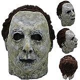 TianranRT Cosplay Michael Myers Schmelzen Gesicht Overhead Latex Kostüm Requisite Unheimlich Maske Spielzeug