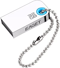 Eaget U9L Mini USB2.0 Metal Waterproof U Disk Flash Drive USB 32GB