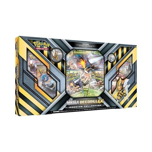 Pokemon POK80169 TCG Mega Bibor EX Premium-Collection Kartenspiel